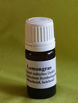Indisches Duftöl Lemongras  5ml